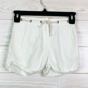 J. Crew Kids size 6 white shorts